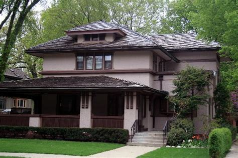 style of house prairie style house picture of oak park illinois