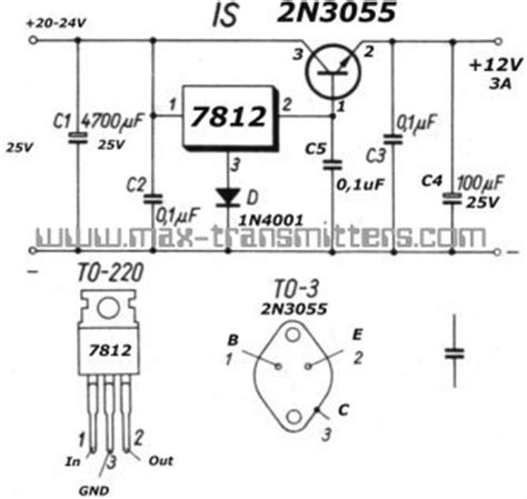 2n3055 transistor regulator transistors 2n3055 power supply electrical engineering stack exchange