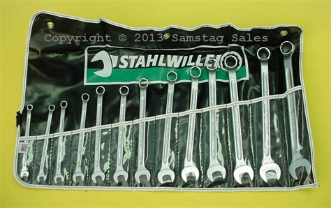 Stahlwille 13 Combination Spanners Open Box 11mm stahlwille germany metric combination wrench set 7 19mm