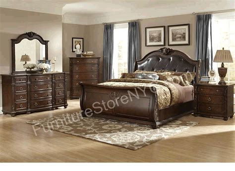 Cherry Bedroom Set by Cherry Wood Bedroom Furniture Eo Furniture
