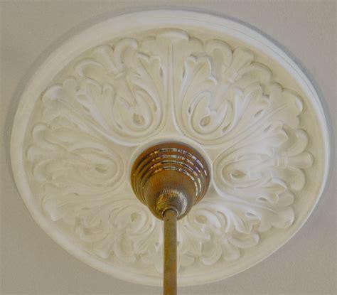 Plaster Medallions Ceiling by Vintage Hardware Lighting