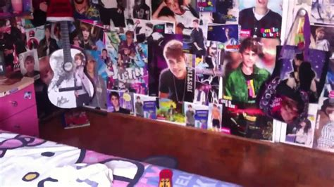 Paris Bedroom Decorating Ideas my justin bieber room 2013 youtube