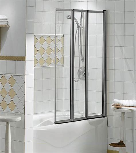folding bathtub doors 3 folding panels tub showers door maax
