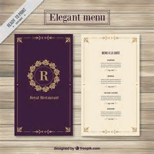 free menus template menu template vector free