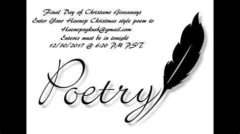 The Talk Christmas Giveaways - pot talk episode 31 12th day of christmas giveaways haenep christmas poems
