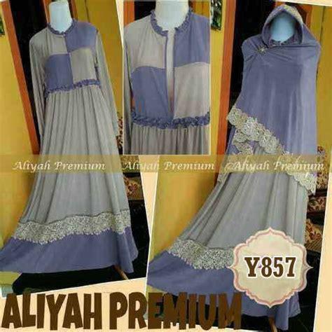 Gamis Syar I Aliyah baju gamis syari aliyah premium y857 xl busui butik jingga