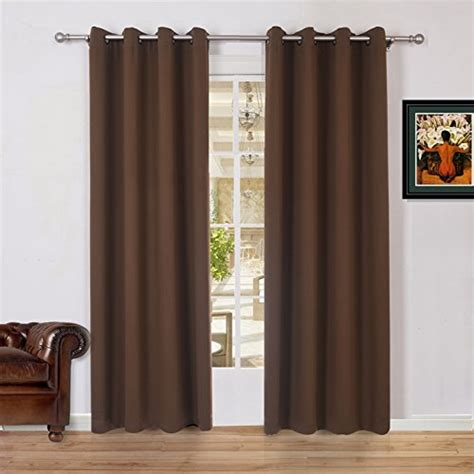 54 inch blackout curtains lullabi solid thermal blackout window curtain drapery