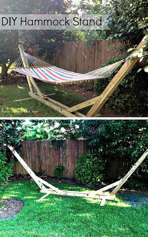 How To Fix A Hammock diy hammock stands diy projects craft ideas how to s for home decor with