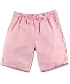 Light Pink Shorts Empyre Dubtub Light Pink Elastic Waist Board Shorts