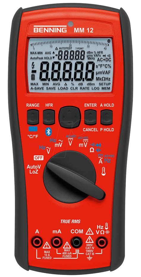 Multimeter Constant 89 benning mm 12 multimeter mm 12 digital 40000 counts trms bei reichelt elektronik