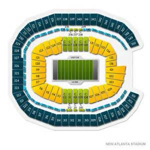 Mercedes Stadium Seating Chart Mercedes Stadium Tickets Mercedes Stadium