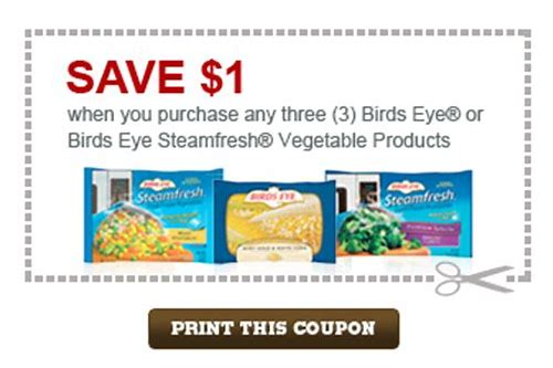 printable birds eye coupons