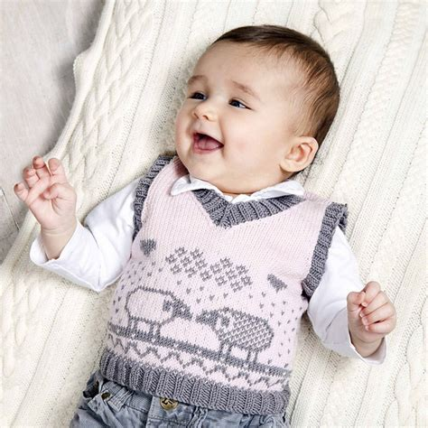 free baby vest knitting pattern vests for babies and children knitting patterns in the