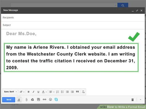 layout of email writing add to the email overload or have 4 ways to write a formal email wikihow