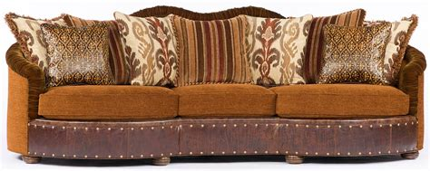 luxury southwestern style large family room sofa or couch