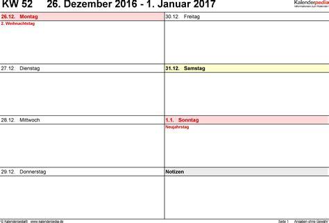 Kalender 2018 Querformat Zum Ausdrucken Wochenkalender 2017 Als Pdfvorlagen Zum Ausdrucken