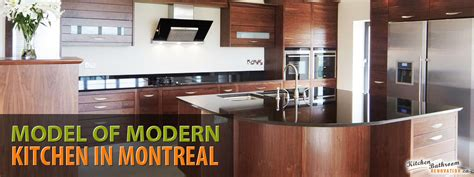 Bathroom Kitchen Montreal Model Design And Renovation Of Modern Kitchen In Montreal
