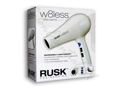 Rusk W8less Hair Dryer rusk w8less 2000 watts hair dryer