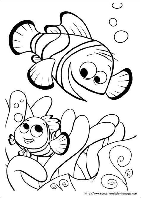 finding nemo coloring pages pdf coloring pages for kids finding nemo coloring pages
