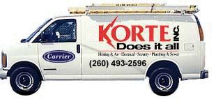 korte does it all in fort wayne indiana heating air