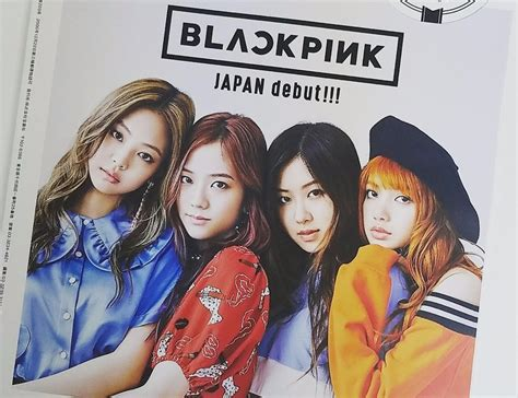 blackpink japan debut magazine blackpink for japan s mini magazine september
