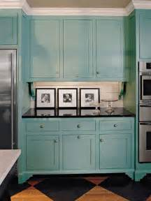 Color Of Kitchen Cabinets Cabinet Paint Colors 7 Colorful Choices For The Kitchen