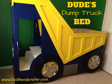 dump truck toddler bed true hope and a future dude s dump truck bed bedroom