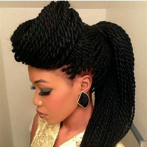 Twist Braids Hairstyles by Senegalese Twist Hairstyles 2015 Nationtrendz