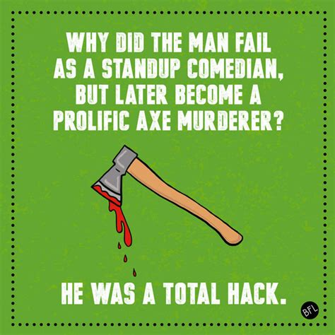 halloween themed jokes this one about axe murderers dad jokes humor and laughter