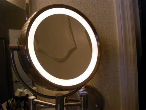 bed bath and beyond light up mirror light up makeup mirror bed bath and beyond home design ideas