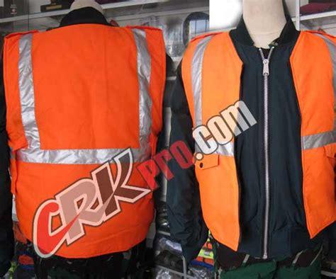 Technovest 0155 Orange Rompi Safety rompi orange murah vest safety reflective scotlight