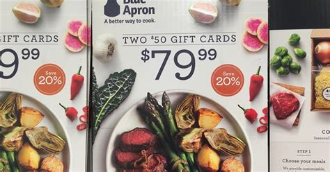 blue apron 2 50 gift cards costco weekender - Hellofresh Gift Card Costco
