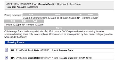 County Arrest Records 2011 Barbara Jeanne Kent Washington Arrested Mar 2011 Misconduct Project