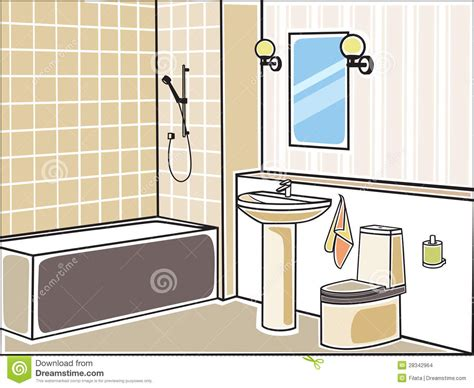 bathroom design template badezimmer stockbilder bild 28342964