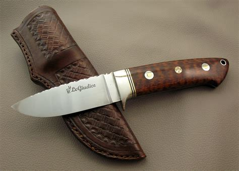 How To Make Handmade Knives - handmade drop point knife number 0009 by michael