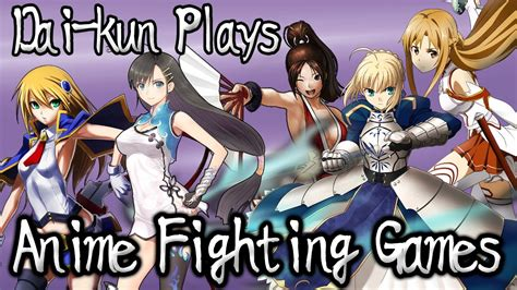 anime fighting games feat saber lightning round youtube