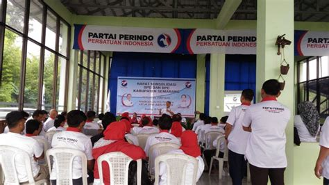 Kursi Plastik Di Semarang perkuat basis kader partai perindo targetkan 12 kursi