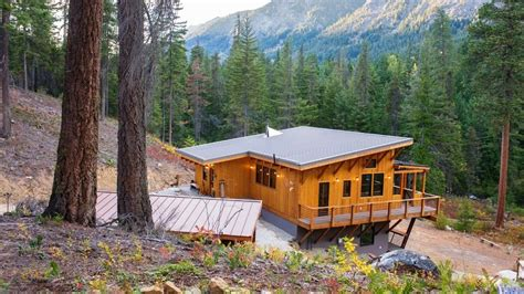 live off grid travel in this beautiful tiny home caravan beautiful off grid houses you d love to live in youtube