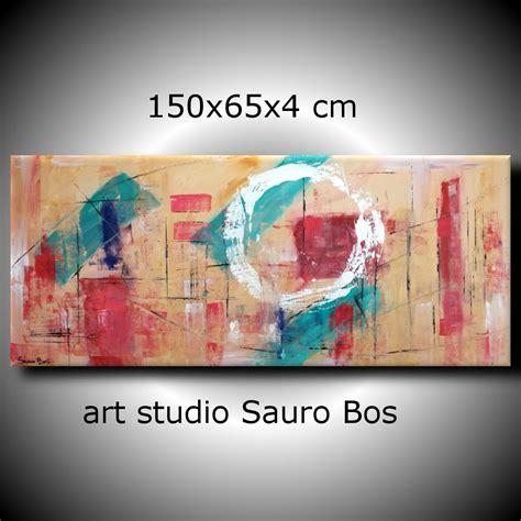 quadri moderni per soggiorno quadri astratti geometrici per soggiorno 150x65 sauro bos