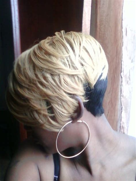 quick weave bobs blonde shondra s quick weave hairstyles blonde layeres
