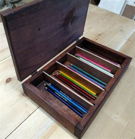 ac colored pencils introductory price solid wood colored pencil storage