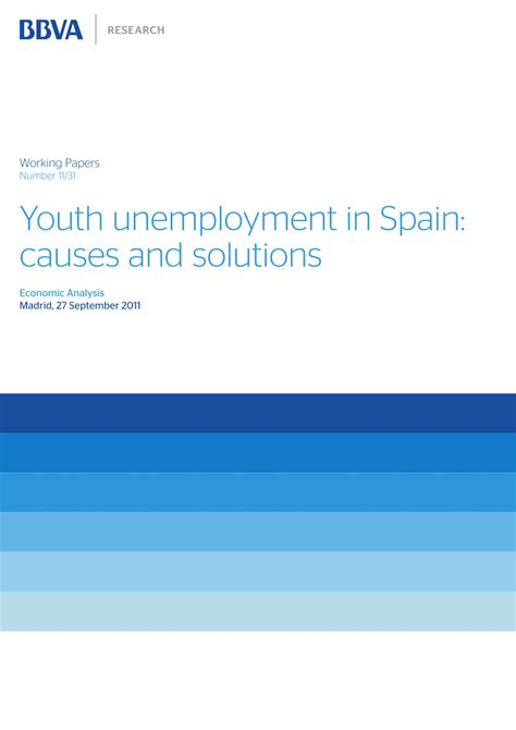 fighting youth unemployment the effects of active labor youth unemployment in spain causes and pdf download