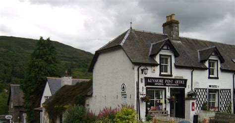 Kenmore Post Office by Perthshire Kenmore Post Office Perthshire Scotland