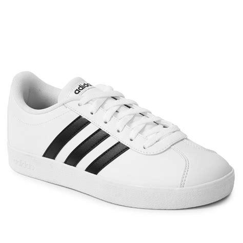 Adidas Vl Court 2 0 Shoes by Adidas Vl Court 2 0 K Black White Rubino
