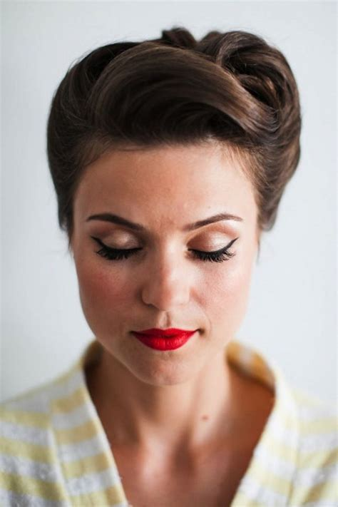 vintage style wedding hair 16 seriously chic vintage wedding hairstyles weddingsonline