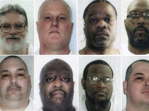 arkansas execution here are the 8 inmates arkansas planned to execute in 11 days