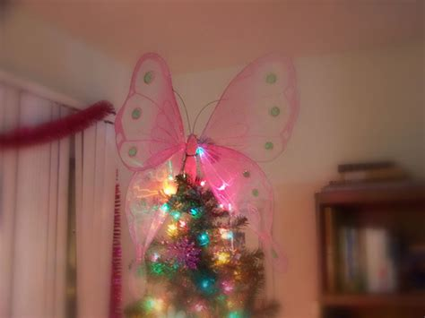 butterfly tree topper we went to my niece amy s for