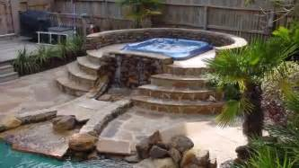 Home design outdoor patio ideas with hot tub backyard fire pit bath