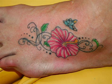 hibiscus tattoos designs ideas and meaning tattoos for you