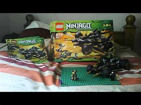 lego ninjago cole zx's car review set no. 9444 youtube
